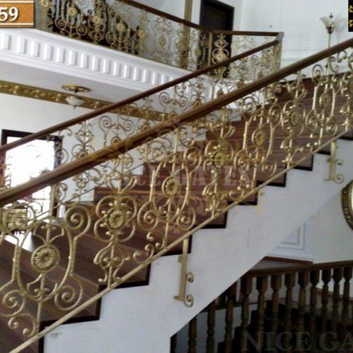 Cầu thang sắt cao cấp ST359
