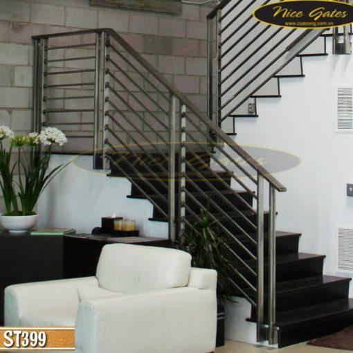 Cầu thang sắt đơn giản ST399