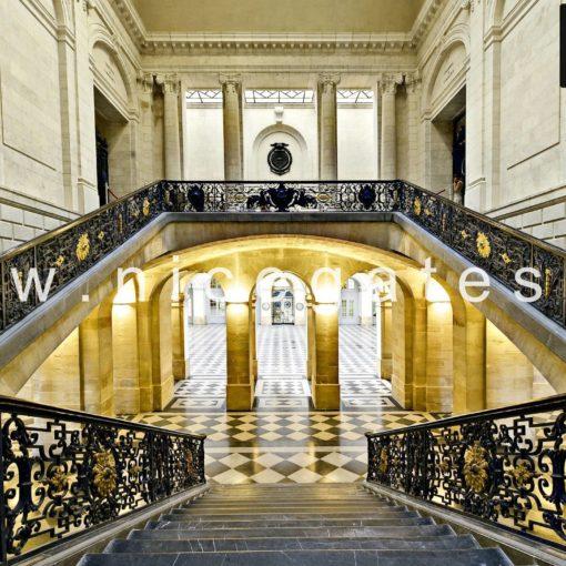 Cầu thang sắt biệt thự - ST 1047
