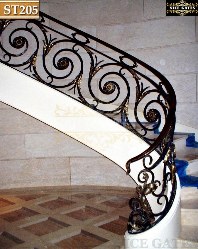 Cầu thang giả cổ -ST205