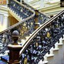 Cầu thang sắt đặc -ST173