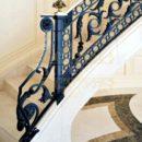 Cầu thang sắt đặc uốn nóng -ST185