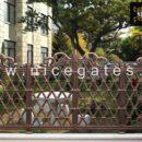 Hàng rào sắt sơn giả cổ