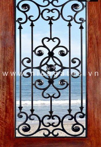 khung bảo vệ cửa sổ bằng sắt