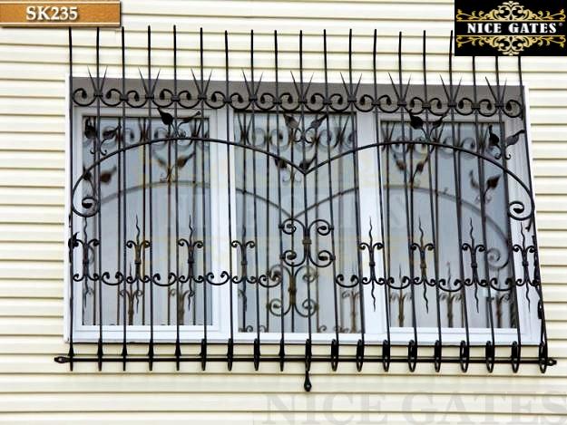 Khung bảo vệ sắt cho cửa sổ - SK235