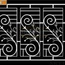 Làm cửa sổ sắt mỹ thuật - SK214