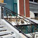 Lan Can cầu thang sắt tuyệt đẹp - ST221