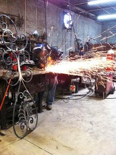 Quy trình sản xuất sắt mỹ nghệ