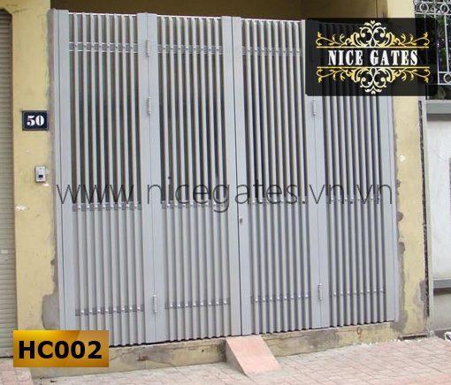 cửa cổng sắt hộp cao cấp