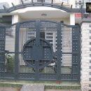 cửa cổng thép hộp đẹp