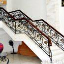 Lựa chọn cầu thang sắt mỹ nghệ theo phong cách ngôi nhà