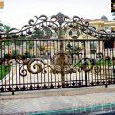 Mẫu cổng sắt biệt thự đẹp - SC1239