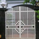 Cửa cổng sắt hộp đơn giản