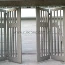 Cửa cổng sắt hộp đẹp HC052