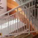 Cầu thang sắt hộp HT011