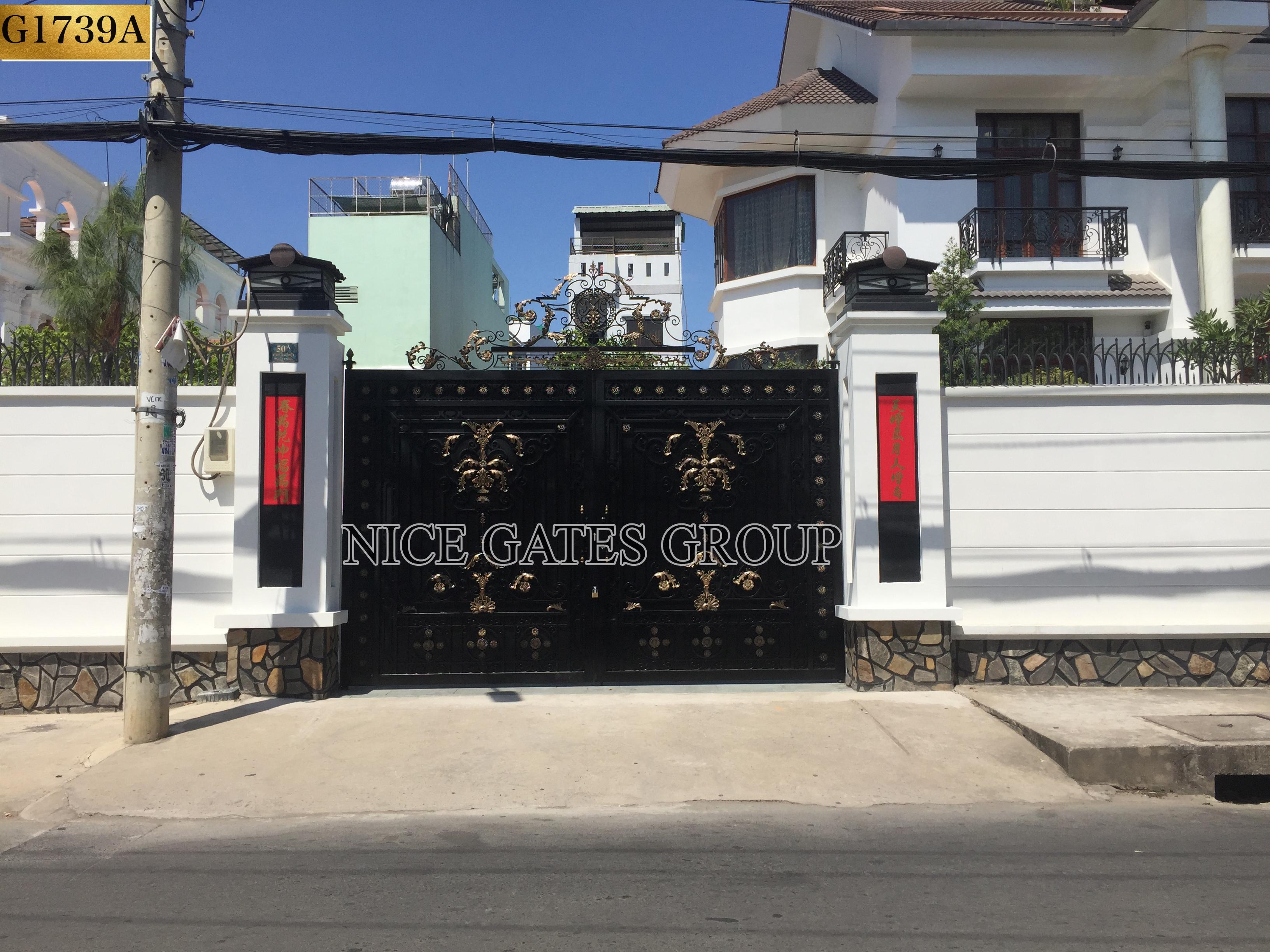 Cửa cổng đẹp G1739