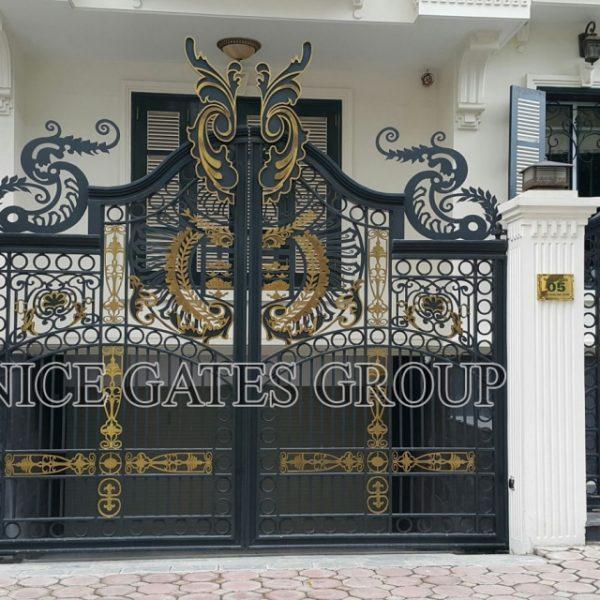 Cửa cổng cắt cnc – G006