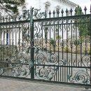Cổng biệt thự sang trọng