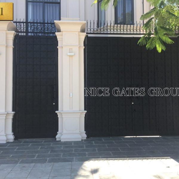Mẫu cổng cắt CNC đẹp cho nhà phố – G1101