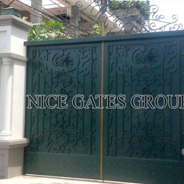 Công ty Nice Gates Group làm cổng sắt CNC đẹp nhất tại TP.HCM