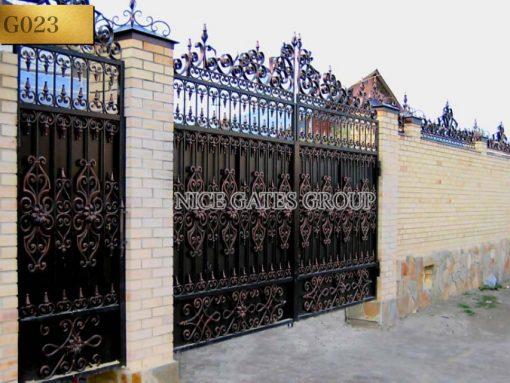Cửa cổng sắt mỹ nghệ cao cấp
