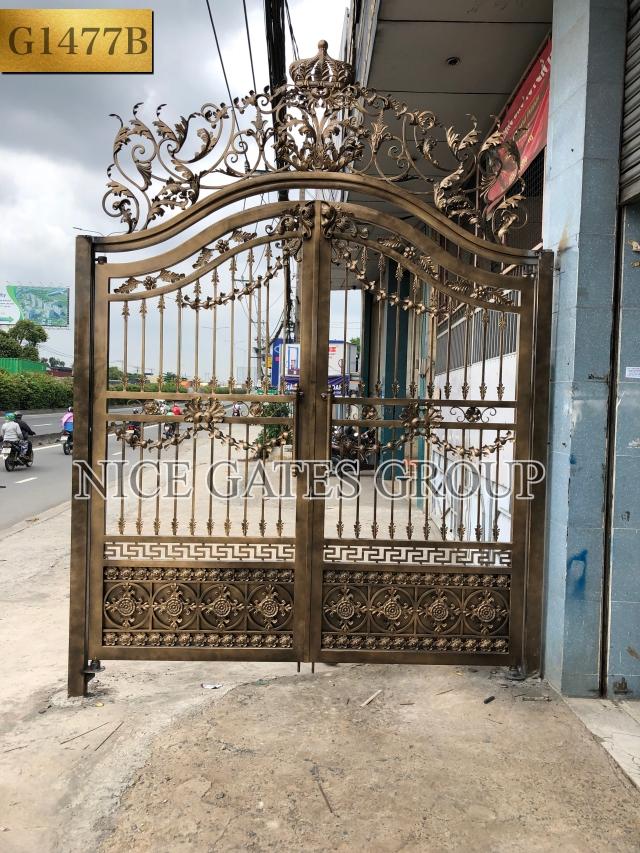 Mẫu cổng cnc đẹp nhất 2019 - Sang trọng, tinh tế