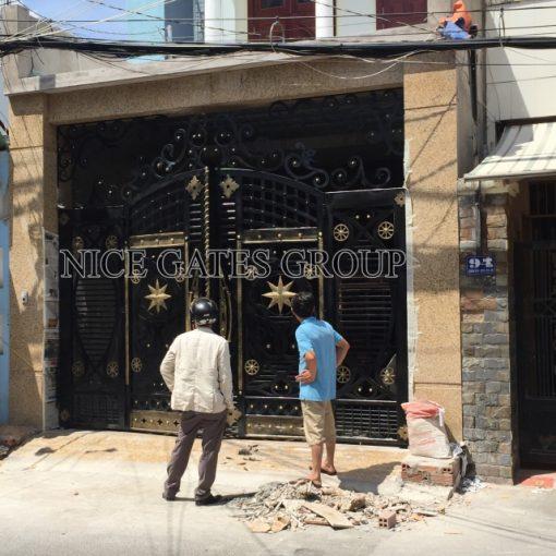 Mẫu cổng cnc đẹp sang trọng cho biệt thự - G1763