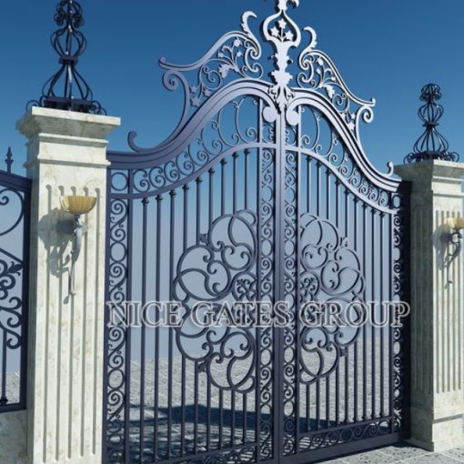 Mẫu cổng cnc đẹp sang trọng cho biệt thự - G1771