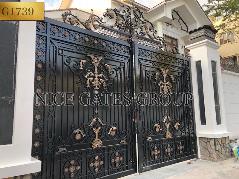 Những mẫu cổng biệt thự đẹp nhất 2019