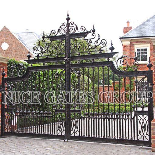 Thiết kế cổng biệt thự cao cấp