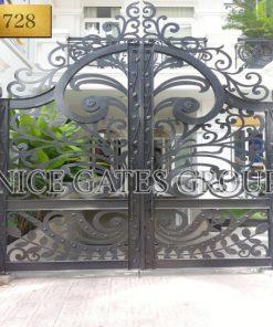 thiết kế cổng sắt cắt cnc