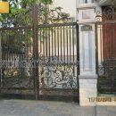 thi công cổng biệt thự đẹp