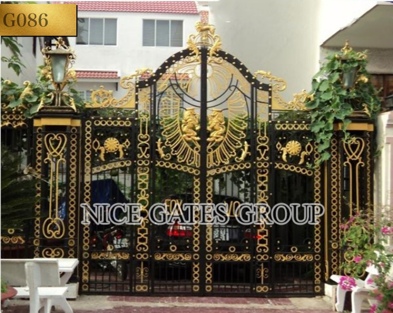 mẫu cửa cổng sắt đẹp