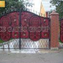 Mẫu cổng sắt mỹ nghệ cho căn biệt thự cao cấp của bạn