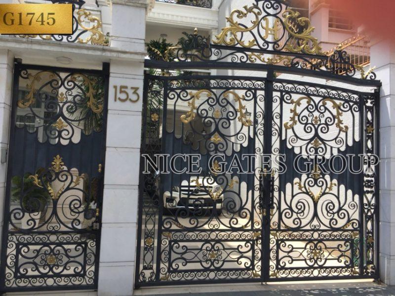 Công ty bán cổng sắt mỹ nghệ chất lượng và đẹp tại TP. Hồ Chí Minh