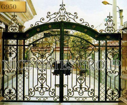Phong cách nổi bật cửa cổng mang đến vẻ đẹp cho biệt thự