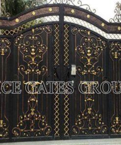 Phong cách nổi bật cửa cổng mang đến vẻ đẹp cho biệt thự B