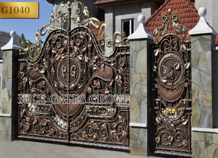 Thiết kế cửa cổng biệt thự đẹp nhất