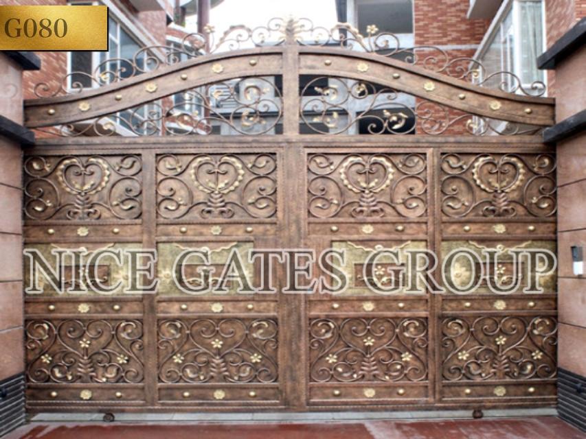 Cổng rào sắt mỹ nghệ đẹp