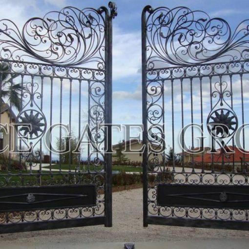 Mẫu cổng sắt mỹ nghệ đẹp
