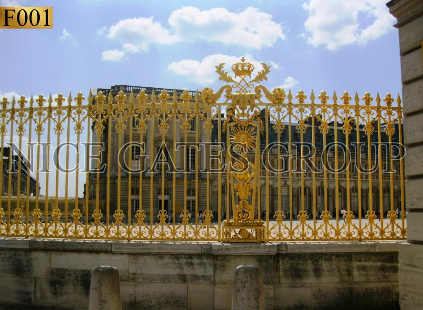 mẫu hàng rào sắt mỹ nghệ đẹp