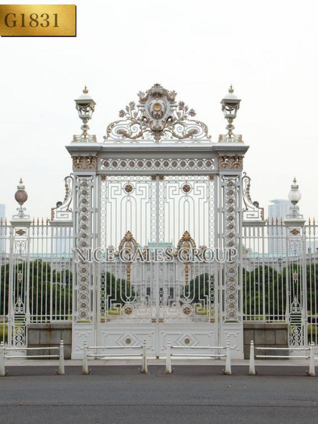 Mẫu cổng cnc đẹp sang trọng cho biệt thự - G1831
